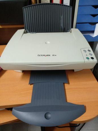 Impressora Multifunções Lexmark, c/Tinteiros, Cópia, Digitaliza, Impr