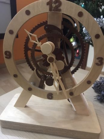 Relógio artesanal