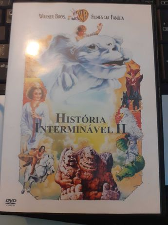 DVD: História Interminável II (RARO)