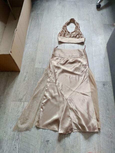 Восточный костюм платье золото