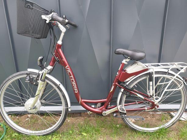 Sprzedam rower elektryczny Victoria z manetką gazu