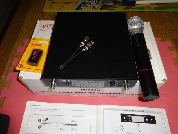 Радио микрофон беспроводной MARKUS M1000HS UHF вокал радиосистема