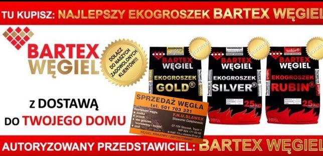 """Węgiel ekogroszek Bartex Gold 27-29Mj typu """"wesoła"""""""