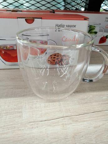 Чашка с двойным дном 350 мл