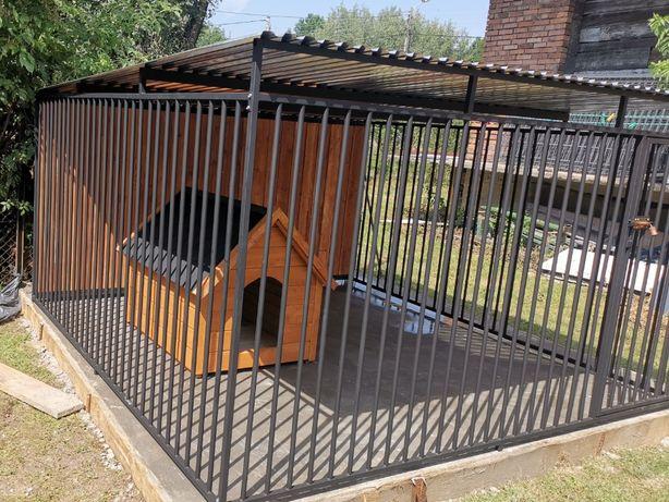Kojec dla psa Boks Klatka buda 4x2,5 m