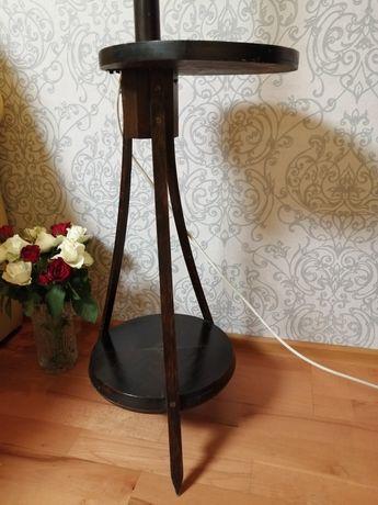 Lampa art-deco ze solikiem