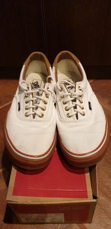 Białe buty tenisówki Trampki sneakersy VANS 46 LATO