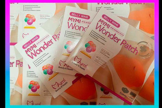 Пластырь для похудения Mymi Wonder Patch 5 шт Удаления жира с живота