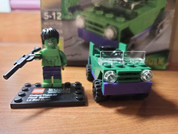 Лего халк и его машина