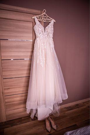 -60% Срочная продажа!Красивенное свадебное платье+подарок