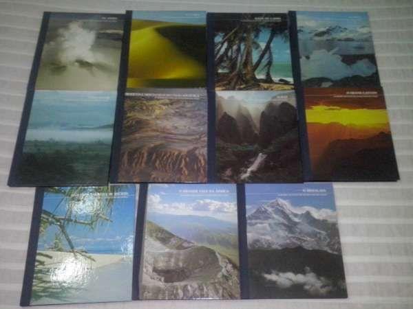 """Coleção completa de """"As regiões selvagens do mundo"""""""