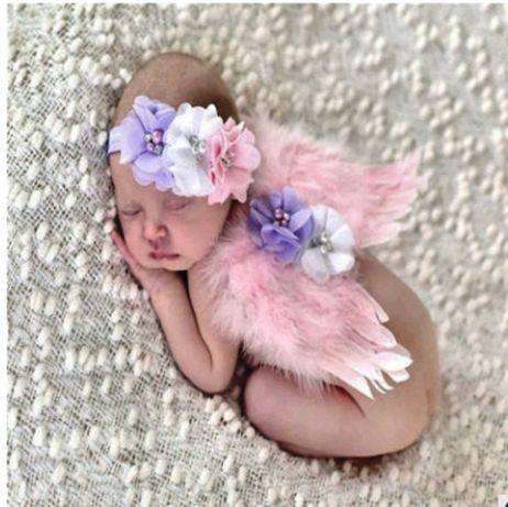 """Одежда для фотосессии малышей """"Ангелочек"""""""