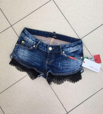 Джинсовые шорты AMN р.S (комбинезон Zara guess
