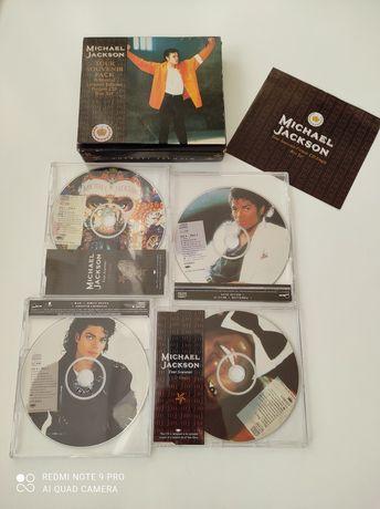 4 płyty Michael Jackson