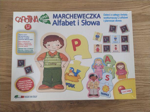 Gra edukacyjna Marcheweczka alfabet i słowa 3-6 lat