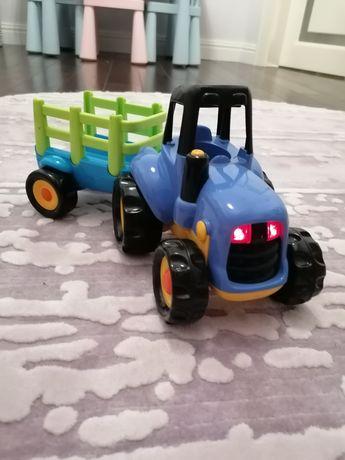 Трактор elc з причепом