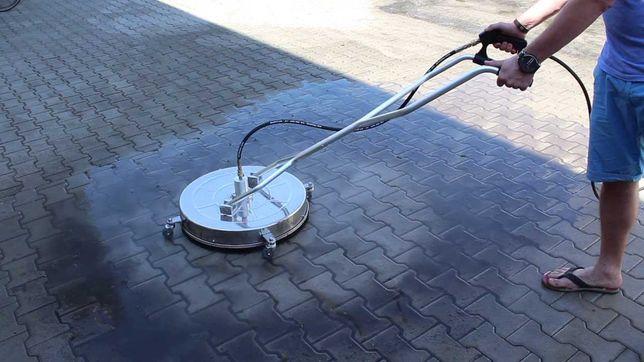 Mycie czyszczenie kostki brukowej elewacje budynku dachy maszyny sprzę
