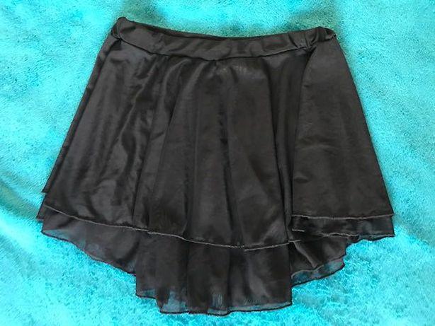 Продам юбку для танцев:чёрная двухслойная эластичная сетка на резинке