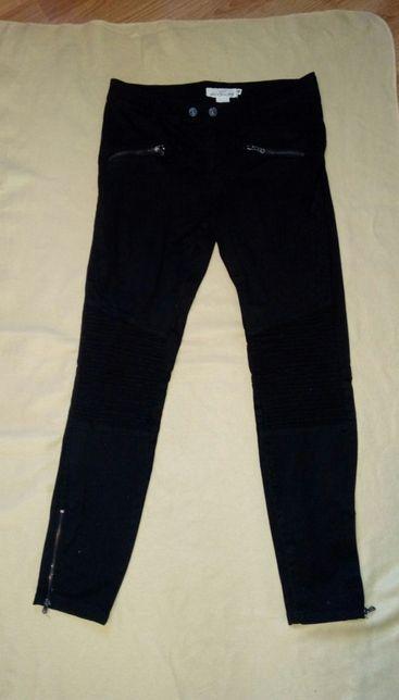Spodnie damskie czarne rurki