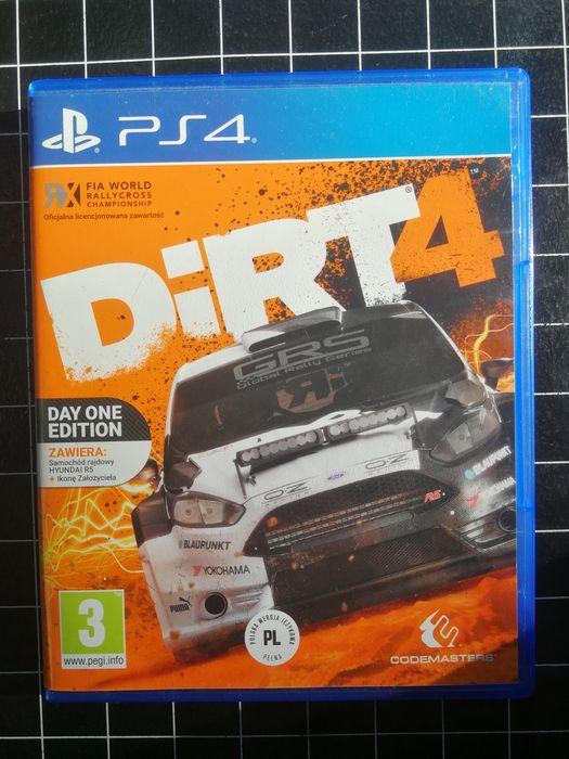 Gra Dirt 4 PS4 PL Warszawa - image 1