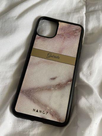 Etui Case personalizowane z napisem Gabriela iPhone 11 Pro Max Nancy