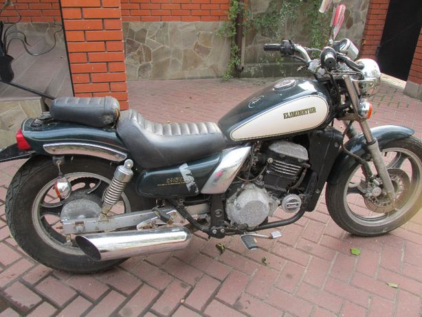 Мотоцикл Kawasaki Eliminator 250 , растаможен.без пробега по Украине