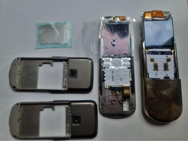 Nokia 8800 silver, sirocco, arte  carbon wszystkie