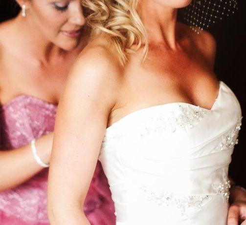 Suknia ślubna Lisa Ferrara rozm. 34 - 36