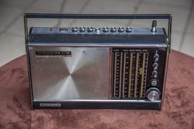 Radio Grundig Concert Boy z lat 60-tych