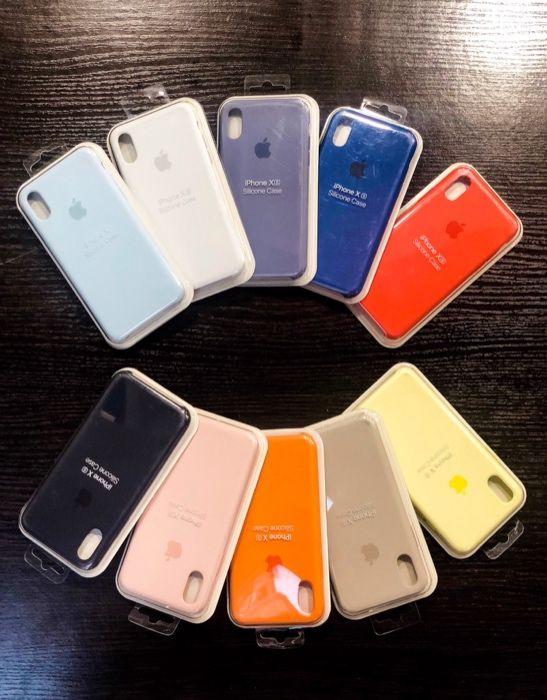 Apple Silicone Case do Iphone X/Xs Rózne kolory , Wysyłka , SKLEP Katowice - image 1