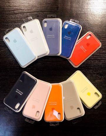 Apple Silicone Case do Iphone X/Xs Rózne kolory , Wysyłka , SKLEP