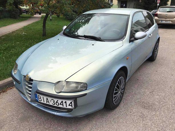 Alfa Romeo 147 z niezawodnym dieslem 1.9JTD