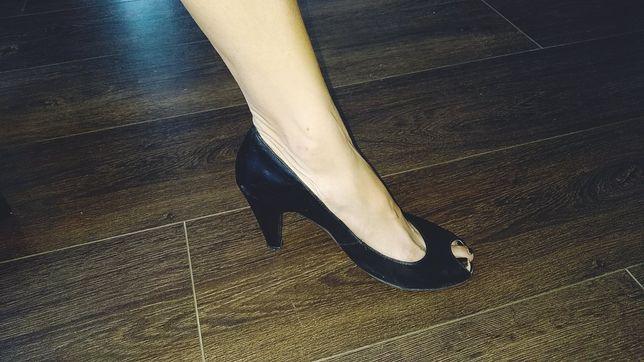 Туфли с открытым носком, 38 размер