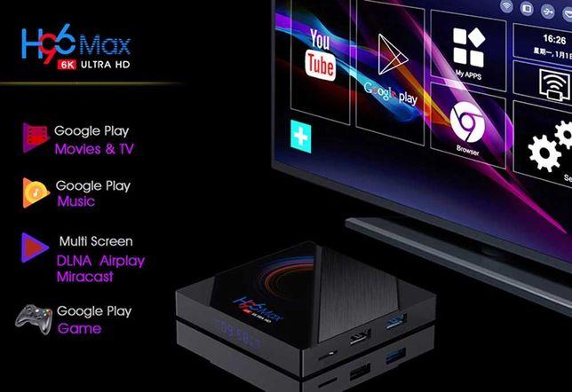Android TV Box - H96 MAX  - 64Gb - 6K UHD - Nova