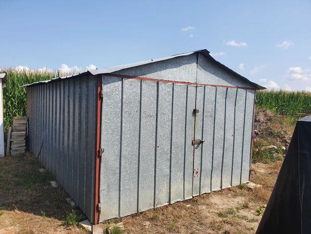 Garaż blaszak na budowę