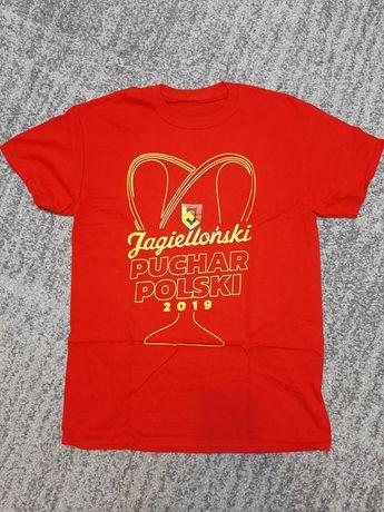 Jagiellonia Białystok Jaga Puchar Polski 2019 koszulka t-shirt roz M