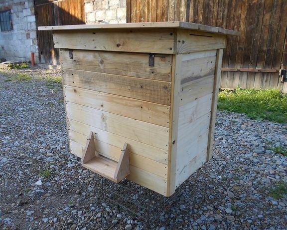 Ul drewniany warszawski poszerzany ocieplony ul z drewna ekologiczny