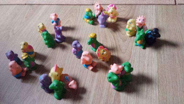 Lote de brinquedos para o banho