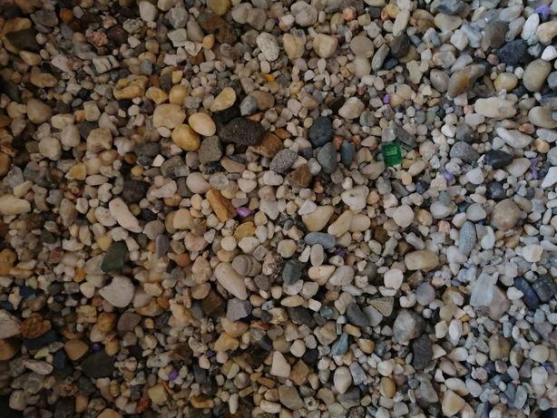 Kamień żwirek do akwarium cienki