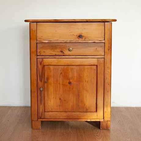 szafka duży nakastlik z ukrytym miejscem na skraby antyk
