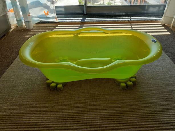 Banheira plástica