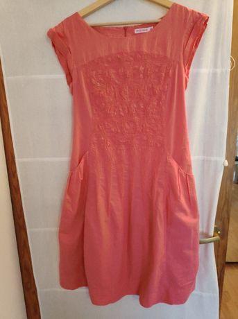Sukienka różowa rozm 42