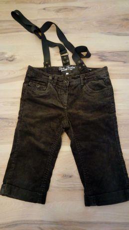 Tom Tailor Spodnie na szelkach, krótkie r. S