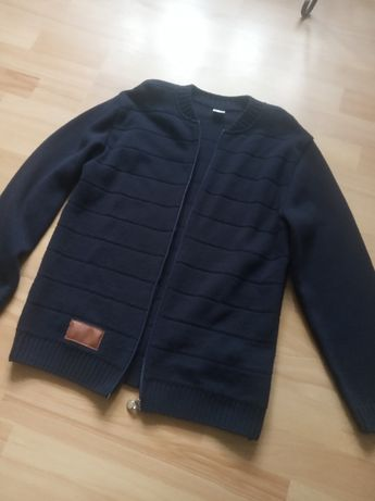 sweter roz. 152 chłopięcy granat