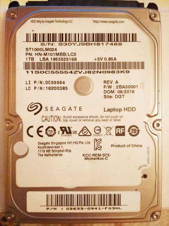 HDD Seagate 1TB Рабочий жесткий диск
