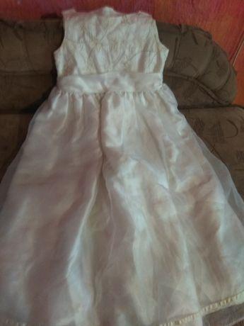 Біло кремове плаття