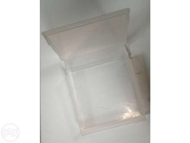 Caixas em Plástico 11cm x 11,5 cm x 2,8 cm