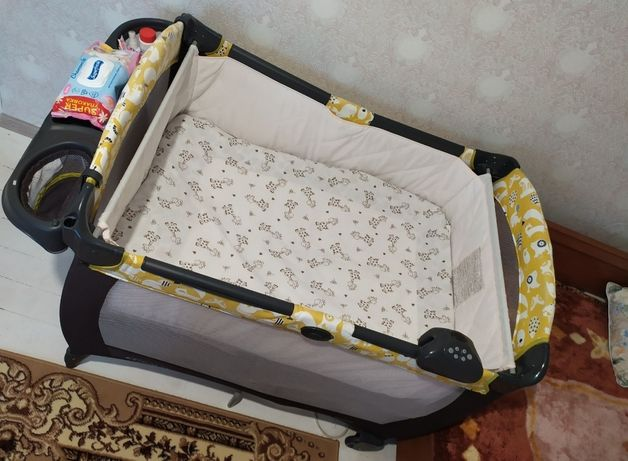 Кроватка манеж пеленатор