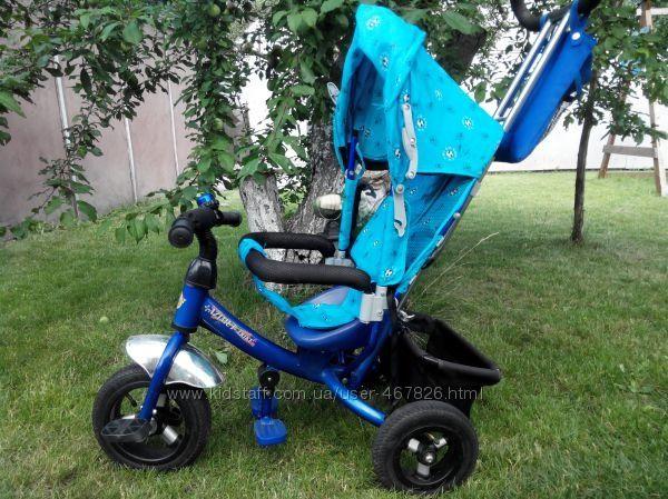 Трехколесный велосипед Azimut Trike на надувных колесах