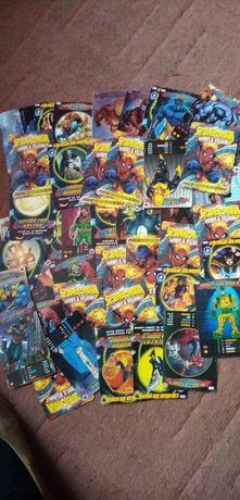 Kolekcjonerskie karty Spider-Man